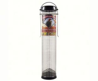 American Bird Woodpecker Feeder Black 13 inch