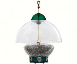 Big Top Bird Feeder New Green Parts
