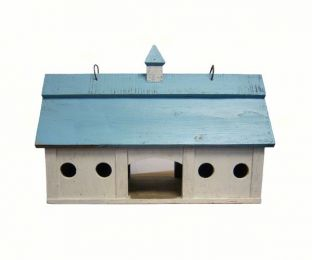 Blue Stable Bird Feeder Large