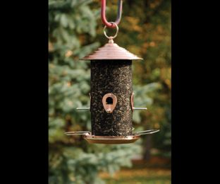 Brushed Copped Mixed Seed Feeder